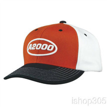 Wilson A2000 Snapback Hat Black/Orange/White WTA7100OW Baseball Cap - $24.22