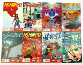 Ms Marvel 3 6 9 10 11 12 13 14 Vol 3 2014 Marvel Comic Book Lot of 8 Kam... - $29.02