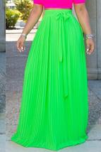 Trendy Bow-Tie  Floor Length Skirt - $29.34