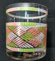 Georges Briard Lined Geometric Old Fashioned Set of 4 - $23.36