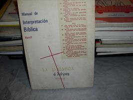 manual  de  interpretacion  biblica - $3.99