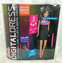 Mattel 2013 Barbie Digital Dress Nikki New In Box Y8179 Draw Animate Sound Activ - $17.65