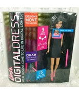 Mattel 2013 Barbie Digital Dress Nikki New In Box Y8179 Draw Animate Sou... - $17.65