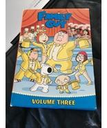 Family Guy - Volume 3 (DVD, 2009, 3-Disc Set, iTunes Sampler) - $12.74