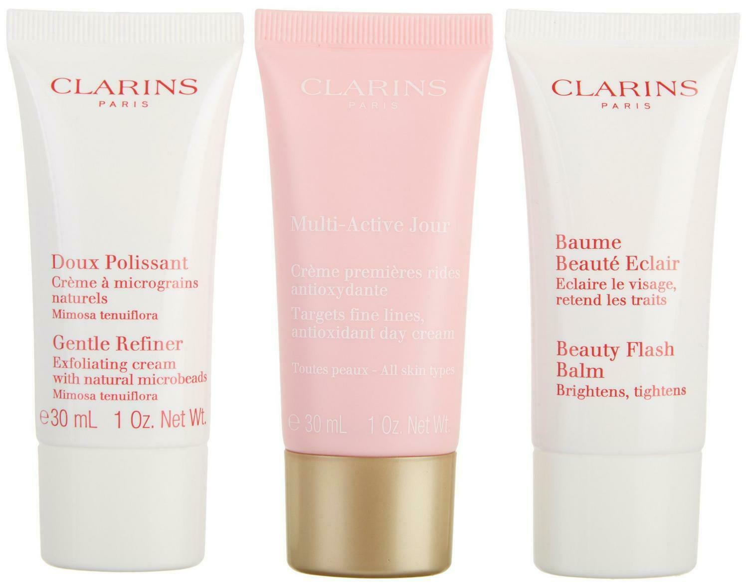 Clarins-From Paris France Womens 3-pc. Multi-Active Anti-Aging Skin Care Set 30+