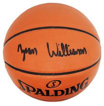 Zion Williamson Signed Spalding Game Series Replica NBA Basketball  - FA... - $989.01