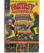 Fantasy Masterpieces #6 ORIGINAL Vintage 1966 Marvel Comics Captain America - $19.79