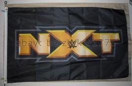 WWE NXT World Wrestling Entertainment 3'x5' flag banner - WCW, WWF, WWE - $25.00
