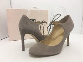 Ivanka Trump Jeanne Women's High Heels Pumps Light Gray Suede Size US 10 M - $33.66