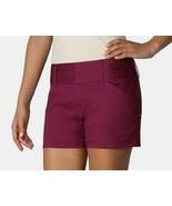 Daisy Fuentes Womens GetAway Get Away City Boysenberry Shorts 8 10 12 - $24.99
