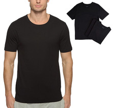 Hugo Boss Men's 3 Pack Pure Cotton Shirt Regular Fit Crew Neck T-Shirt 50325385