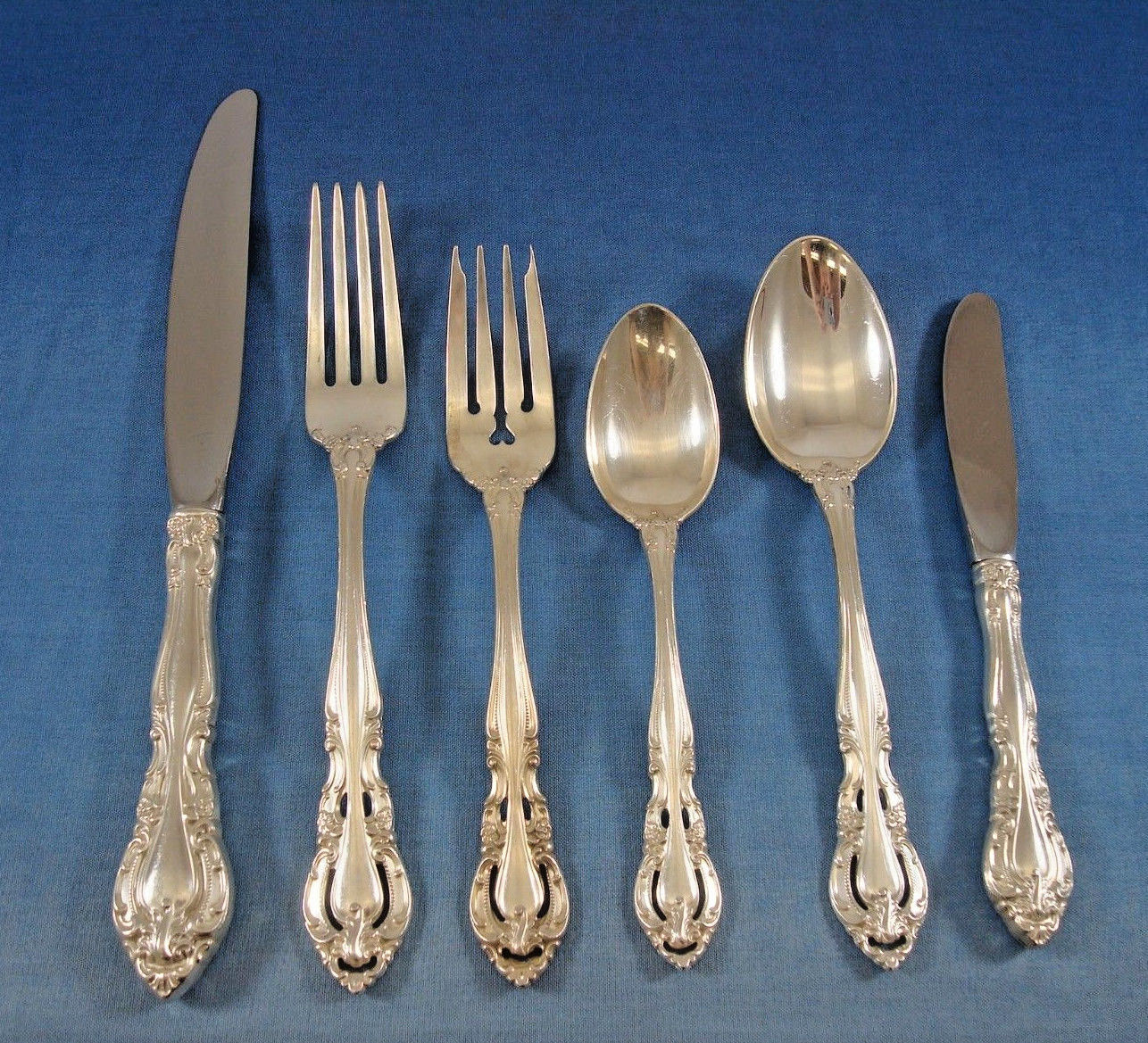 Primary image for Baronial New by Gorham Sterling Silver Flatware Set for 8 Service 52 Pieces