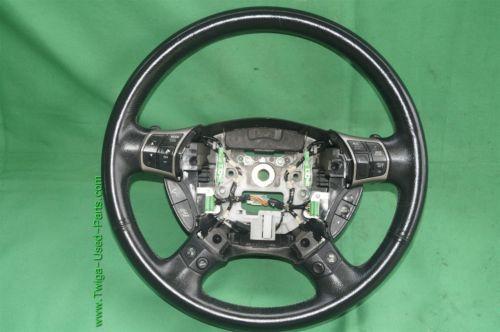 2005-08 Acura RL Leather Steering Wheel BT Phone Cruise Radio Control Switches