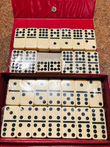Vintage Domino Game By Cardinal 55 Piece Set With Case NEW SEALED PIECES  - $17.81