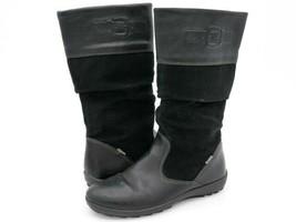 Primigi Girls 5 Black Leather Shock Absorber Mid Calf Boots EUR 35 - $34.99