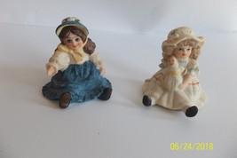 Jan Hagara Doll Figurines Miniature LISA & JENNY - $11.99
