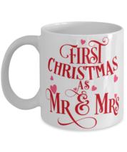 First Christmas as mr and mrs Christmas Gift Coffee Mug  - £10.86 GBP
