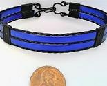 Blue anodized aluminum bracelet 1  1  thumb155 crop