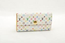 LOUIS VUITTON Monogram Multicolor Portefeuille Sarah Long Wallet M93743 ... - $298.00