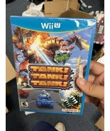 Tank Tank Tank (Nintendo Wii U, 2012) FACTOR SEALED! - $72.92