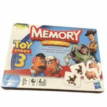Toy Story 3 Memory Game Preschool Disney Pixar Hasbro Age 3+ - $28.88