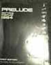1984 Honda Prelude Service Shop Reparatur Manuell 84 OEM Fabrik Autohaus... - $22.97