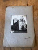ANTIQUE/VINTAGE PHOTO OF IFFLEY CHURCH IN OXFORD (ENGLAND) A4-SIZED - $6.36