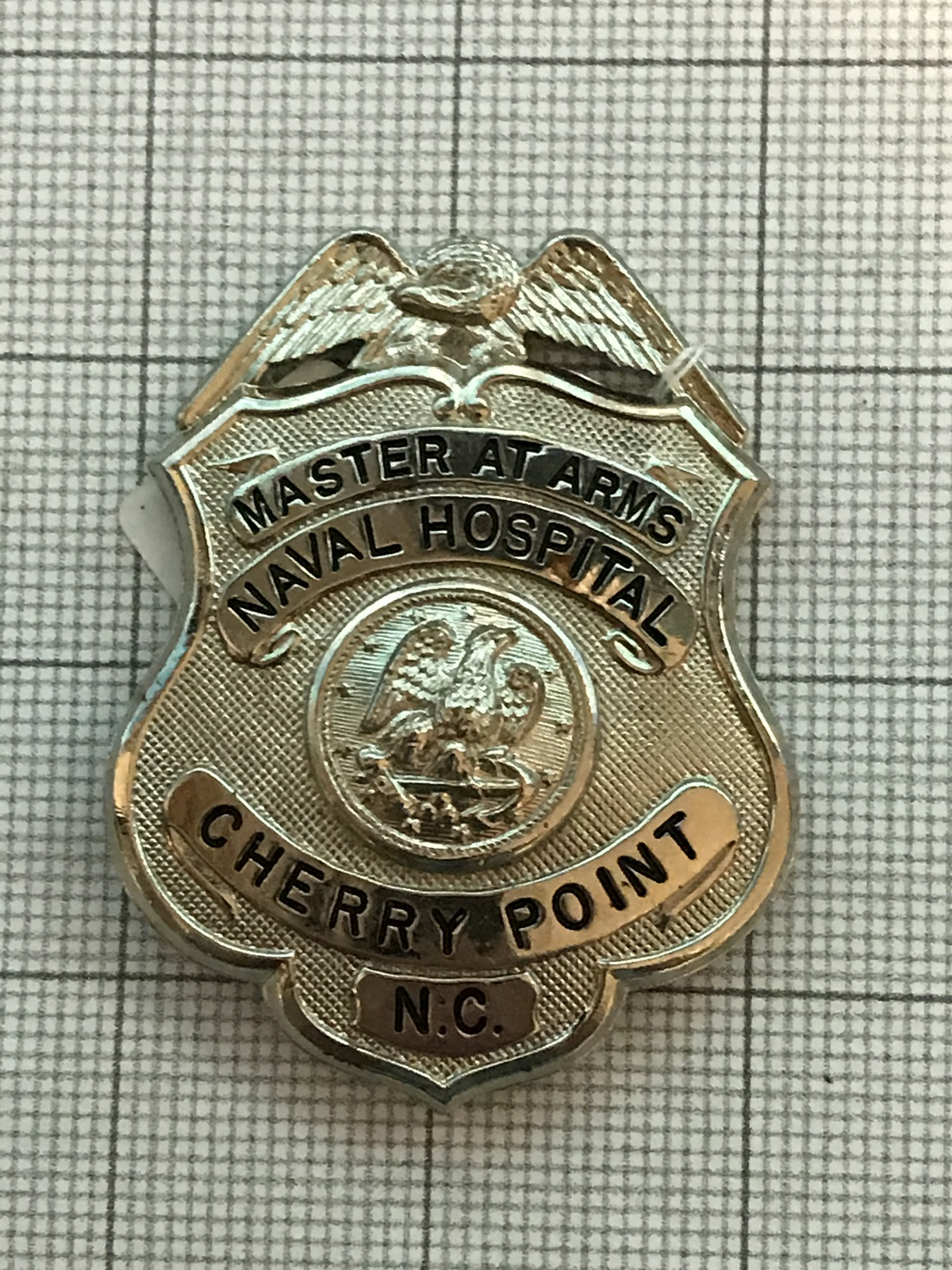 Primary image for Master At Arms Naval Hospital Cherry Point North Carolina Obsolete Badge