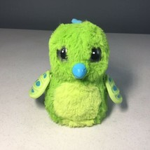 HATCHIMALS Spin Master Draggle Blue Green Interactive Dragon Hatched No Egg - $9.89