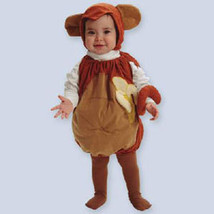 Little Monkey Infant Baby Halloween Costume Size 0-25 Pounds - $25.00