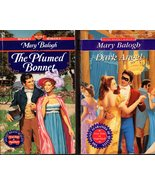 Mary Balogh - 3 Novels -The Plumed Bonnet, Dark Angel & Dancing With Clara - $6.95