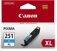 NEW Genuine Canon Ink Cartridge Tank High Yield 271 Cyan XL CLI-271XL-C - $18.90