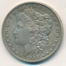 1903 MORGAN SILVER DOLLAR-VERY NICE LIGHTLY CIRCULATED DOLLAR-SHIPS FREE... - $44.95