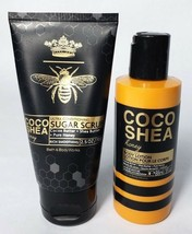 Bath & Body Works Coco Shea Honey Sugar Scrub and Body Lotion Travel Set... - $9.89