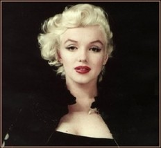 Marilyn Monroe Oil Portrait Repro Hand-made Canvas Oil Painting (Canvas only)