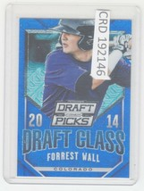 2014 Panini Prizm Perennial Draft Picks Class Blue 75 Forrest Wall 192146 - $1.86