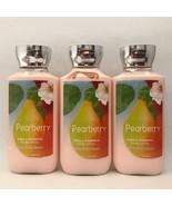 3 Bath & Body Works Pearberry Shea Body Lotion 8 oz 236 ml New - $24.70