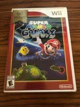 Super Mario Galaxy: Nintendo Selects Wii Complete Cib Good - $9.49