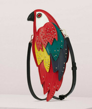 Kate Spade Rio Parrot Crossbody Bag Leather Clutch ~NWT~ - $324.72