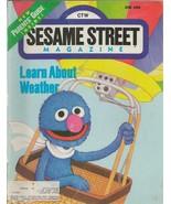 ORIGINAL Vintage Sesame Street Magazine June 1986 Grover Cover - $18.51