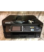 Mint Condition Epson WorkForce WF-7610 Wireless Color All-in-One Inkjet ... - $184.99