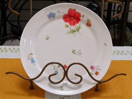 """Mikasa Bone China Just Flowers 6 1/2"""" Bread And Butter Plate - $3.96"""