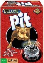 Deluxe Pit Corner the Market Stock Family Fun Winning Moves Card Game w/... - $18.99