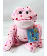 Ganz Webkinz HM144 Pink Love Frog with Hearts Stuffed Plush With Secret ... - $7.92