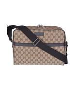Gucci Unisex Beige Canvas GG Guccissima Camera Case Messenger Bag - $1,599.00