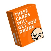 These Cards Will Get You Drunk - Fun Adult Drinking Game For Parties [New] - £21.72 GBP