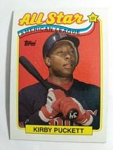 TOPPS 1989 CARD #403 KIRBY PUCKETT - $0.99