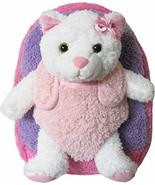 Kreative Kids Hot Pink Kitty Cat Plush Backpack with Removable Stuffed A... - $372,19 MXN