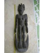 Older Middle Sepik Tribal Ancestor Hand Carved Suspension Hook 30A9 Guin... - $664.99