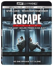 Escape Plan [4K Ultra HD+Blu-ray+Digital]
